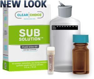 Clean urine