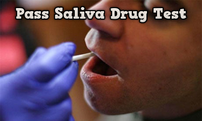 pass saliva drug test situation